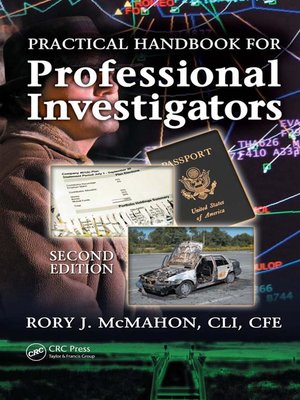 cover image of Practical Handbook for Professional Investigators