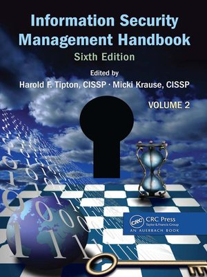 cover image of Information Security Management Handbook, Volume 2
