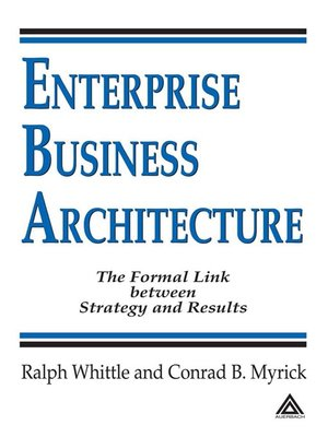 cover image of Enterprise Business Architecture