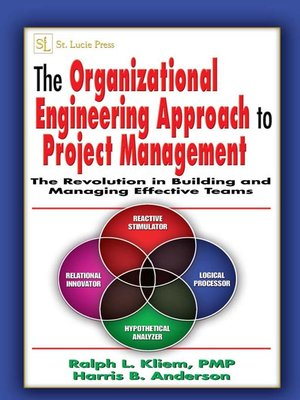 cover image of The Organizational Engineering Approach to Project Management