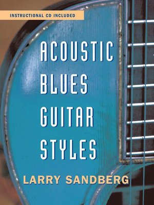 cover image of Acoustic Blues Guitar Styles