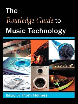cover image of The Routledge Guide to Music Technology