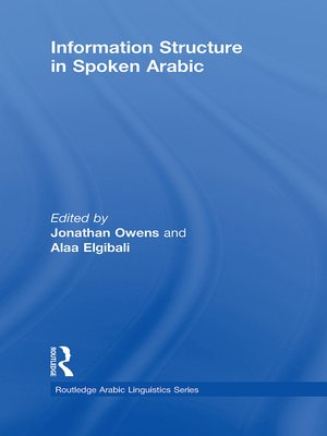 cover image of Information Structure in Spoken Arabic