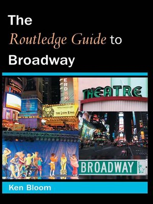 cover image of The Routledge Guide to Broadway