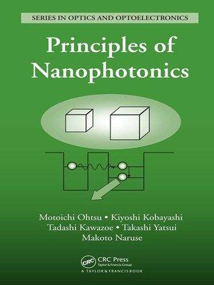 cover image of Principles of Nanophotonics