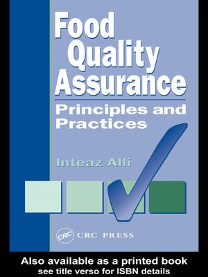 cover image of Food Quality Assurance
