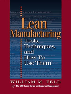 cover image of Lean Manufacturing