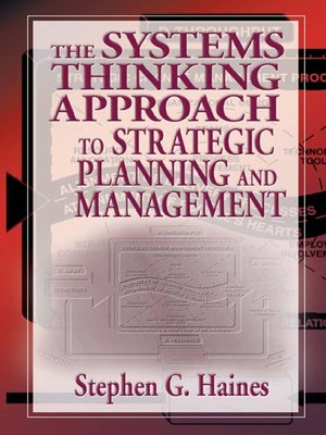 cover image of The Systems Thinking Approach to Strategic Planning and Management