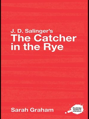 cover image of J.D. Salinger's The Catcher in the Rye