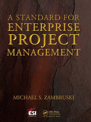 cover image of A Standard for Enterprise Project Management