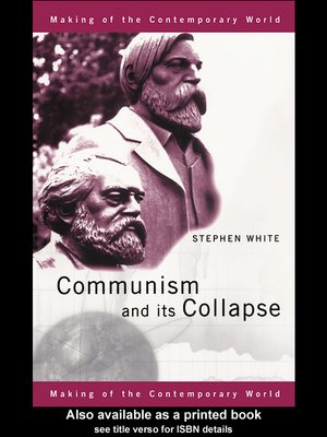 turning points collapse of communism Turning points - collapse of communism and the voyages of columbus turning points are points where an important change occurs it is very important that it will never be forgotten since.