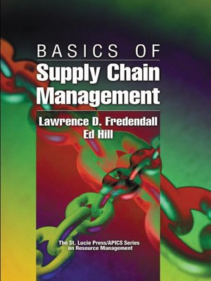 cover image of Basics of Supply Chain Management