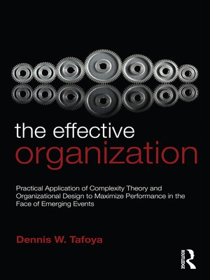 cover image of The Effective Organization