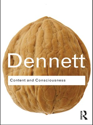 cover image of Content and Consciousness