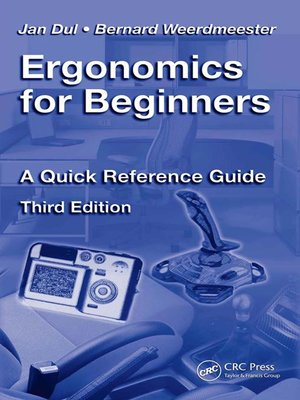 cover image of Ergonomics for Beginners