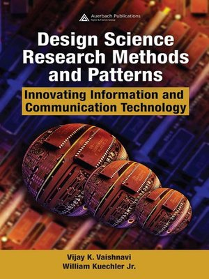 cover image of Design Science Research Methods and Patterns