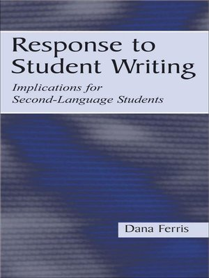 cover image of Response To Student Writing