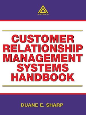 cover image of Customer Relationship Management Systems Handbook
