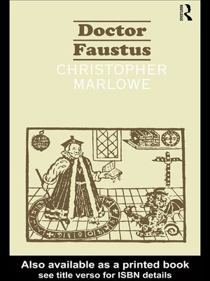 cover image of The Tragical History of Dr. Faustus