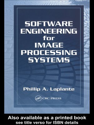 cover image of Software Engineering for Image Processing Systems