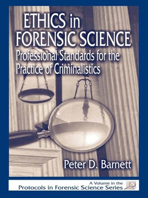 cover image of Ethics in Forensic Science