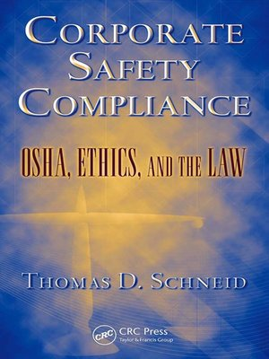 cover image of Corporate Safety Compliance