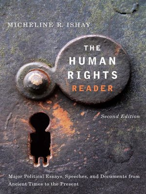 cover image of The Human Rights Reader