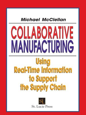 cover image of Collaborative Manufacturing