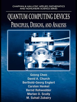 cover image of Quantum Computing Devices