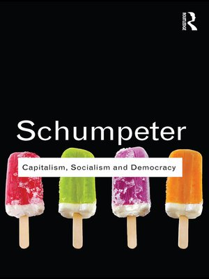 cover image of Capitalism, Socialism and Democracy