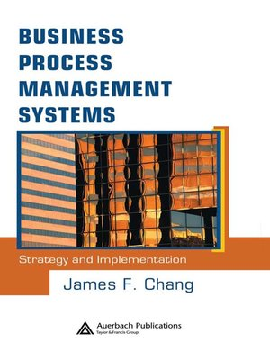 cover image of Business Process Management Systems