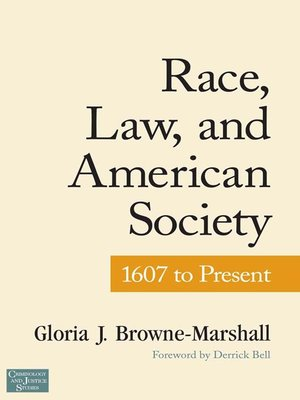 cover image of Race, Law, and American Society