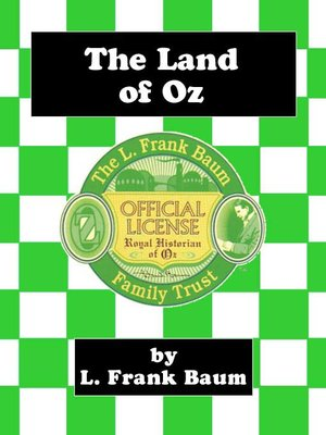 cover image of The Land of Oz