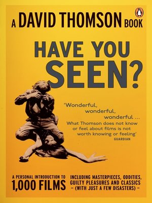 cover image of 'Have You Seen...?'