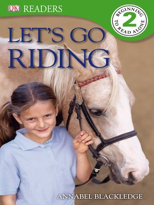 cover image of Let's Go Riding