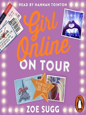 cover image of On Tour: Girl Online Series, Book 2