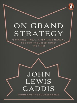 cover image of On Grand Strategy
