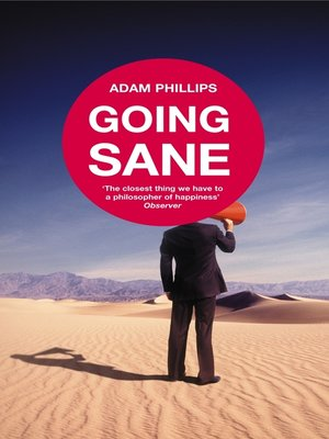 cover image of Going Sane
