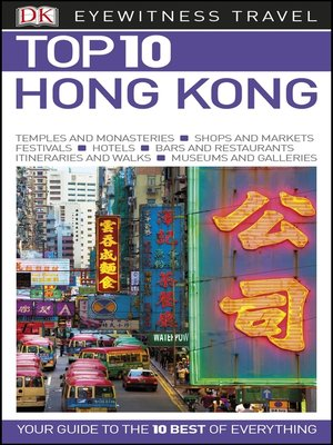cover image of DK Eyewitness Top 10 Hong Kong