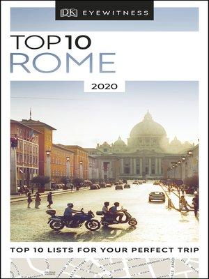 cover image of DK Eyewitness Top 10 Rome