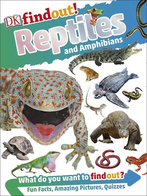 cover image of DKfindout! Reptiles and Amphibians