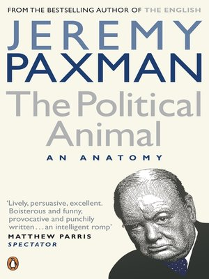 cover image of The Political Animal