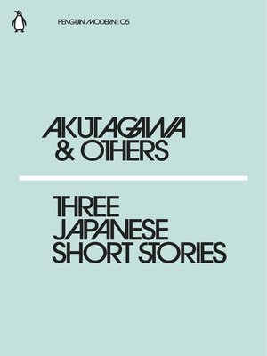 cover image of Three Japanese Short Stories
