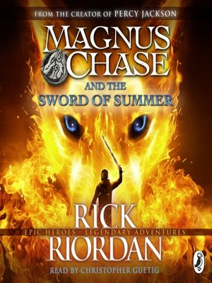cover image of Magnus Chase and the Sword of Summer