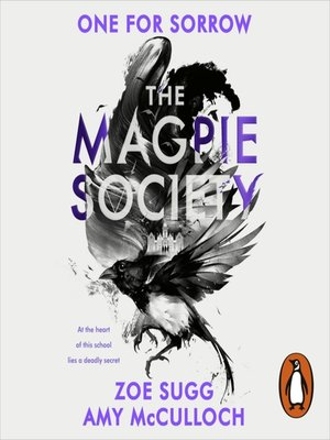 cover image of One for Sorrow: The Magpie Society Series, Book 1