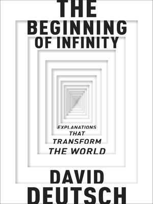 cover image of The Beginning of Infinity