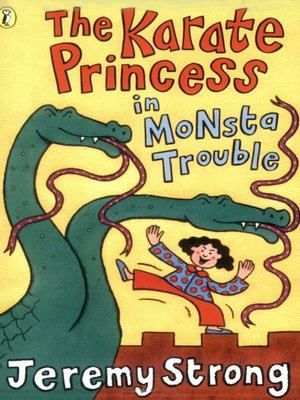 cover image of The Karate Princess in Monsta Trouble