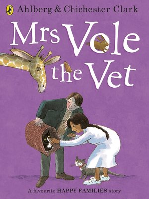 cover image of Mrs Vole the Vet