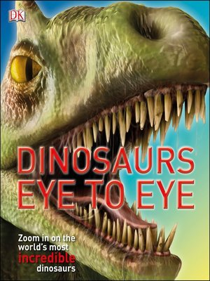 cover image of Dinosaurs Eye to Eye