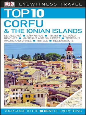 cover image of Top 10 Corfu and the Ionian Islands